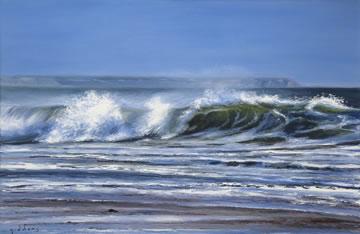 Shorebreak--Oil-on-Canvas--60-x-90-cm-