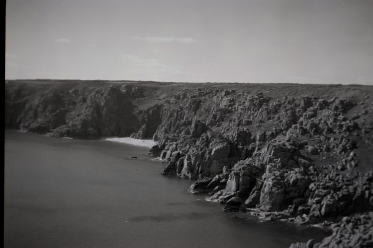 coastline towards Porthcurno