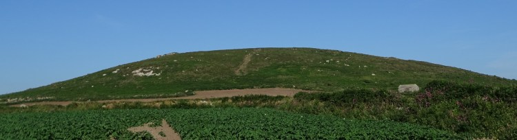 chapel carn brea cornwall's first and last hill