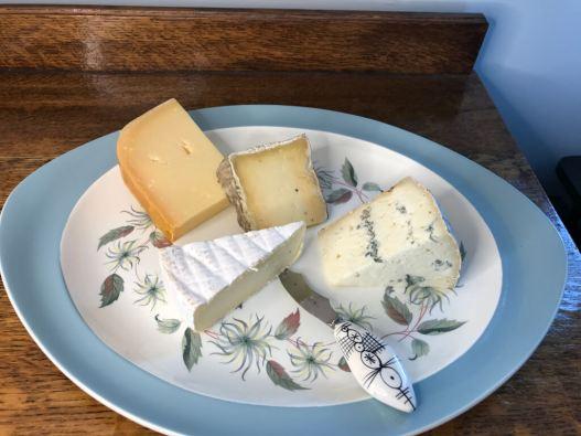 Cornish cheeses