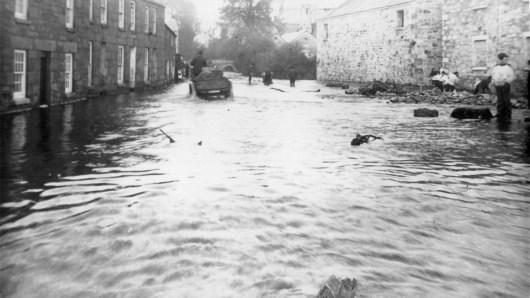 Flooding at Tolcarne