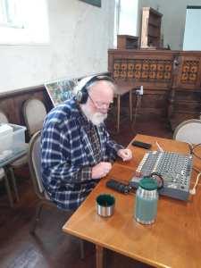 recording music sessions at Rescorla