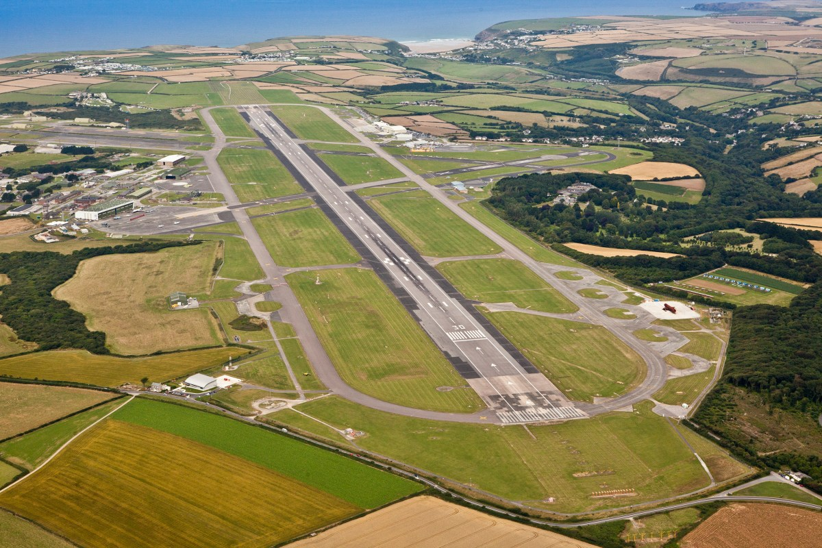 Heathrow route next for Newquay? Maybe. Airport's rise continues, 'spreading success across Cornwall'