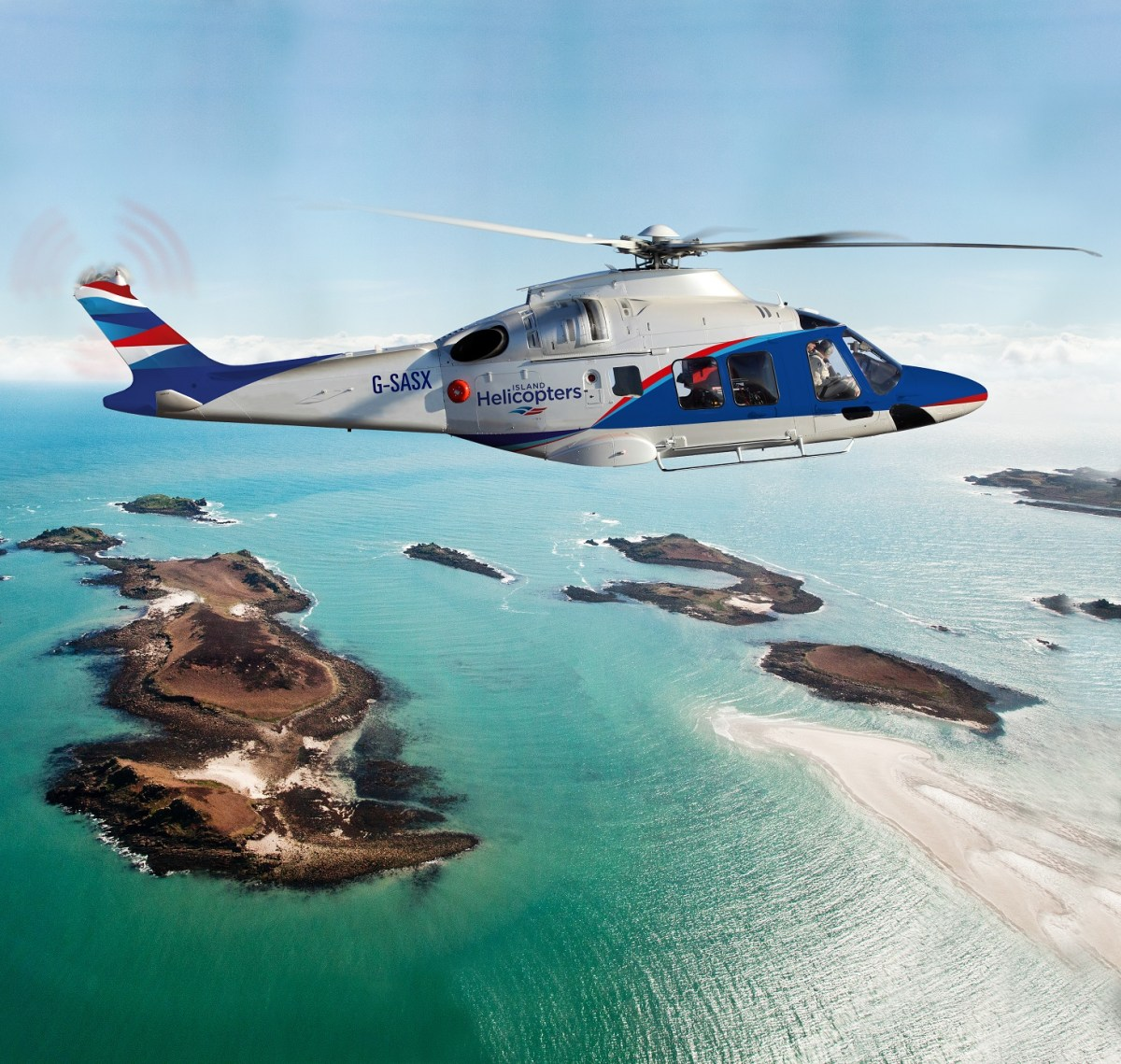 New helicopterservice from Land's End Airport to the Isles of Scilly
