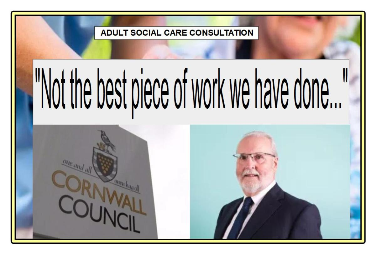 "Council - ""The consultations haven't been the best pieces of work that we have done..."""