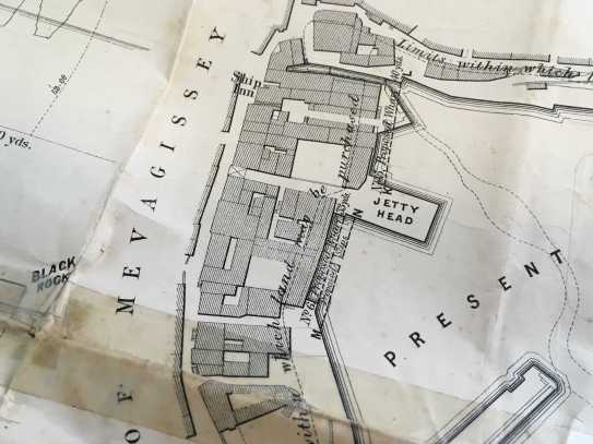 Plans for Mevagissey Harbour