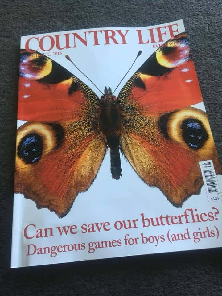 Butterfly cover of Country Life