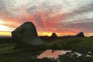 Baal Hero- Sunset at the Stone Circle