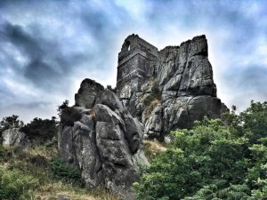 Dramatic image of Roche Rock