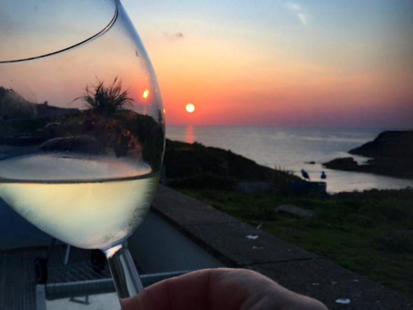 Tutorial Urlaub im Ferienhaus: Cornwall Sonnenuntergang - Ferienhaus Newquay