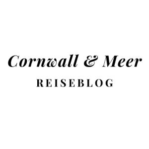 Schriftzug Cornwall & Meer Reiseblog