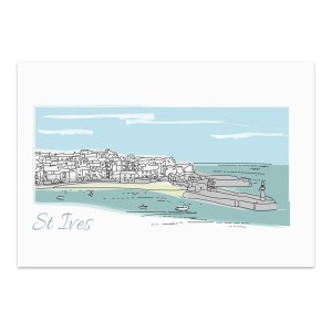 artist cornwall print cornwall art gallery painting interior design gift