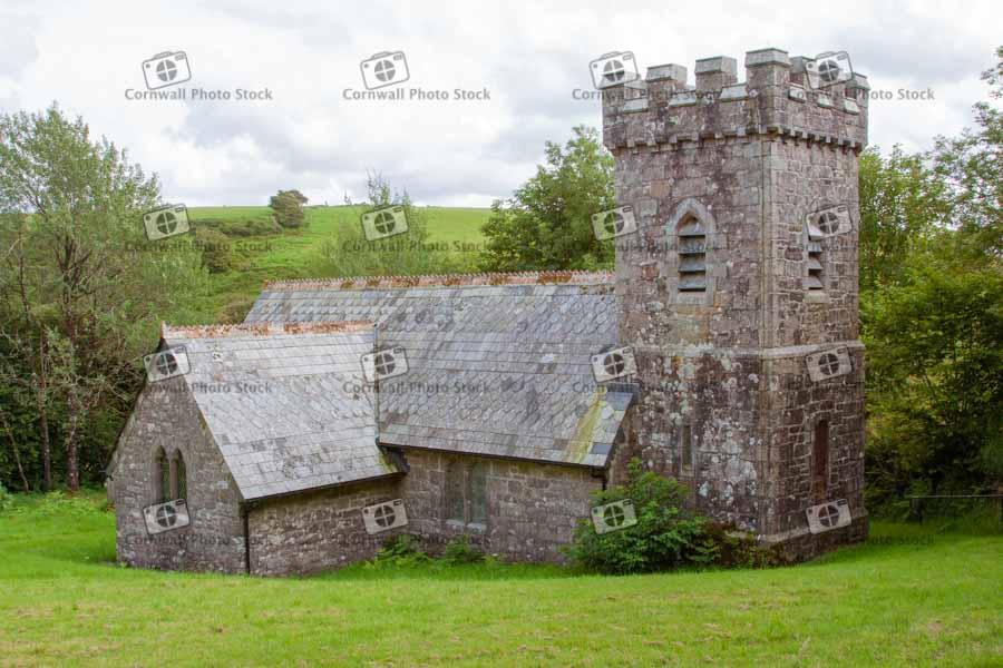 Templar Church On Bodmin Moor