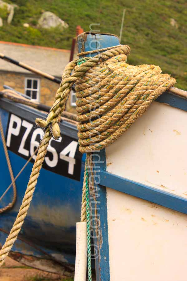 Fishing Boat Bow Rope Detail