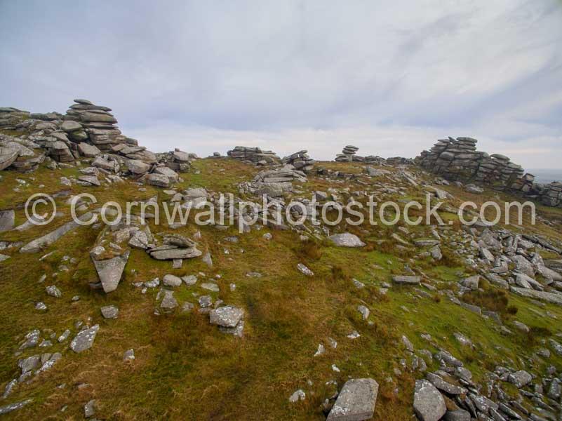 Rock Outcrops On Roughtor