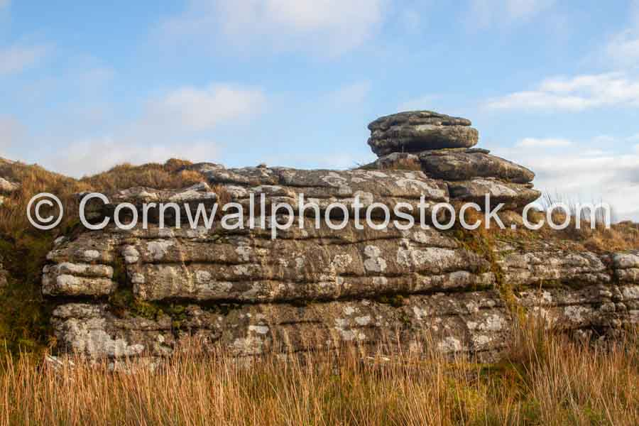 Weathered Rock Stack on Bodmin Moor