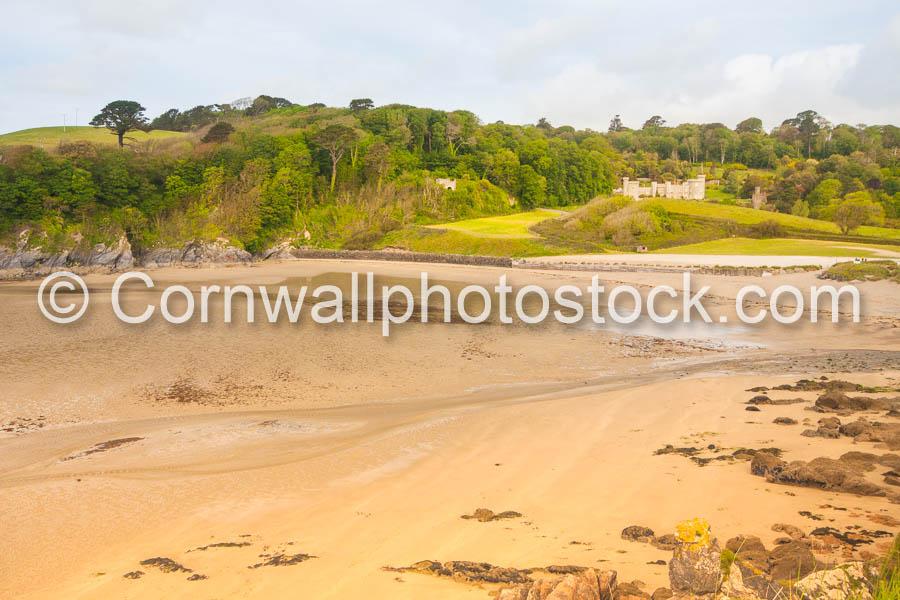 Caerhays Castle And Beach