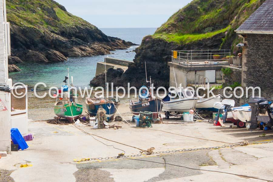 Fishing Boats On Slipway