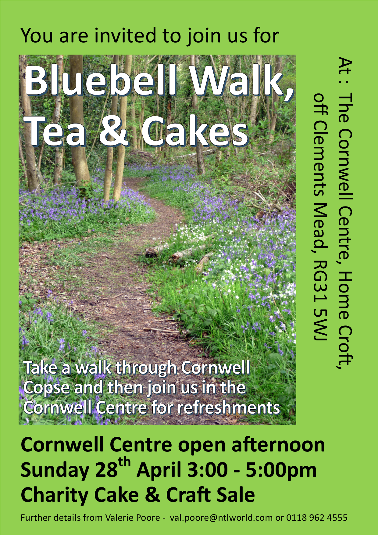 Bluebell Walk, Tea & Cakes
