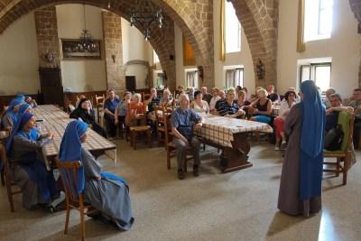 Incontro con le sorelle del Verbo Incarnato di Tuscania