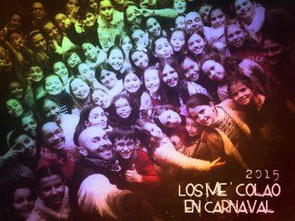 Los Me' Colao en Carnaval 2015. Selfie