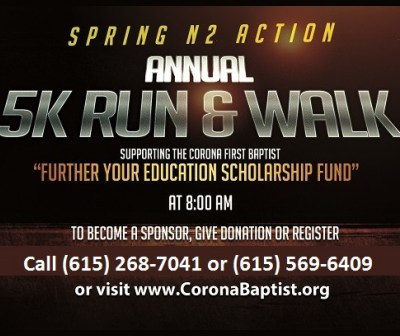 5K Run Walk May 21