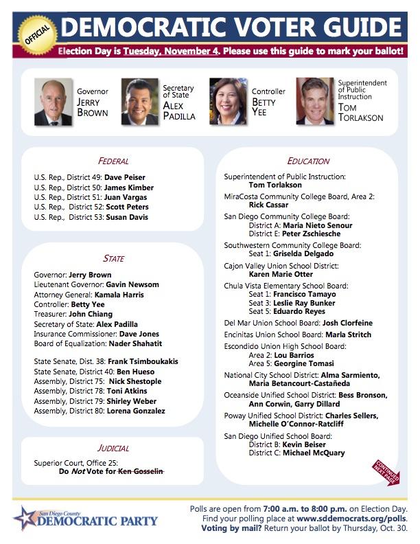 Democratic endorsed candidates_2014