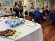 Thanks to Joann Palmer and Kitty Rosania for great refreshments