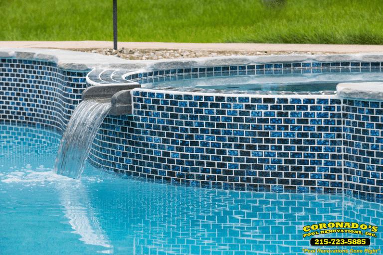 fix swimming pool tile