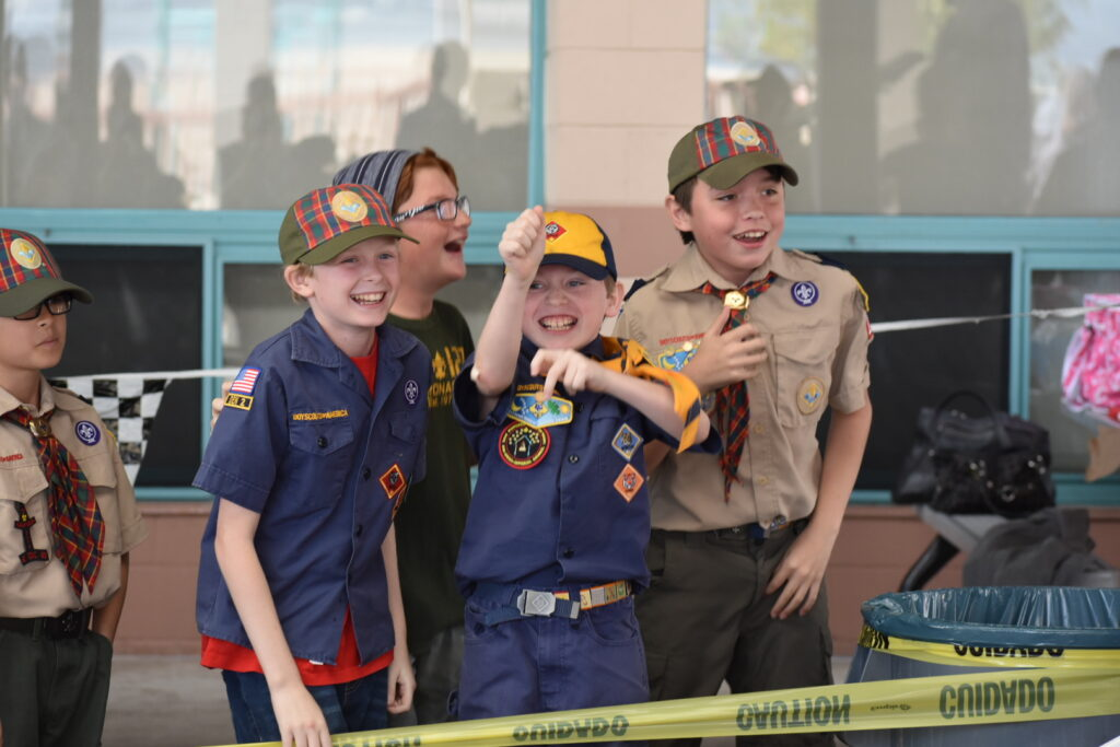 Cub Scout Round Up