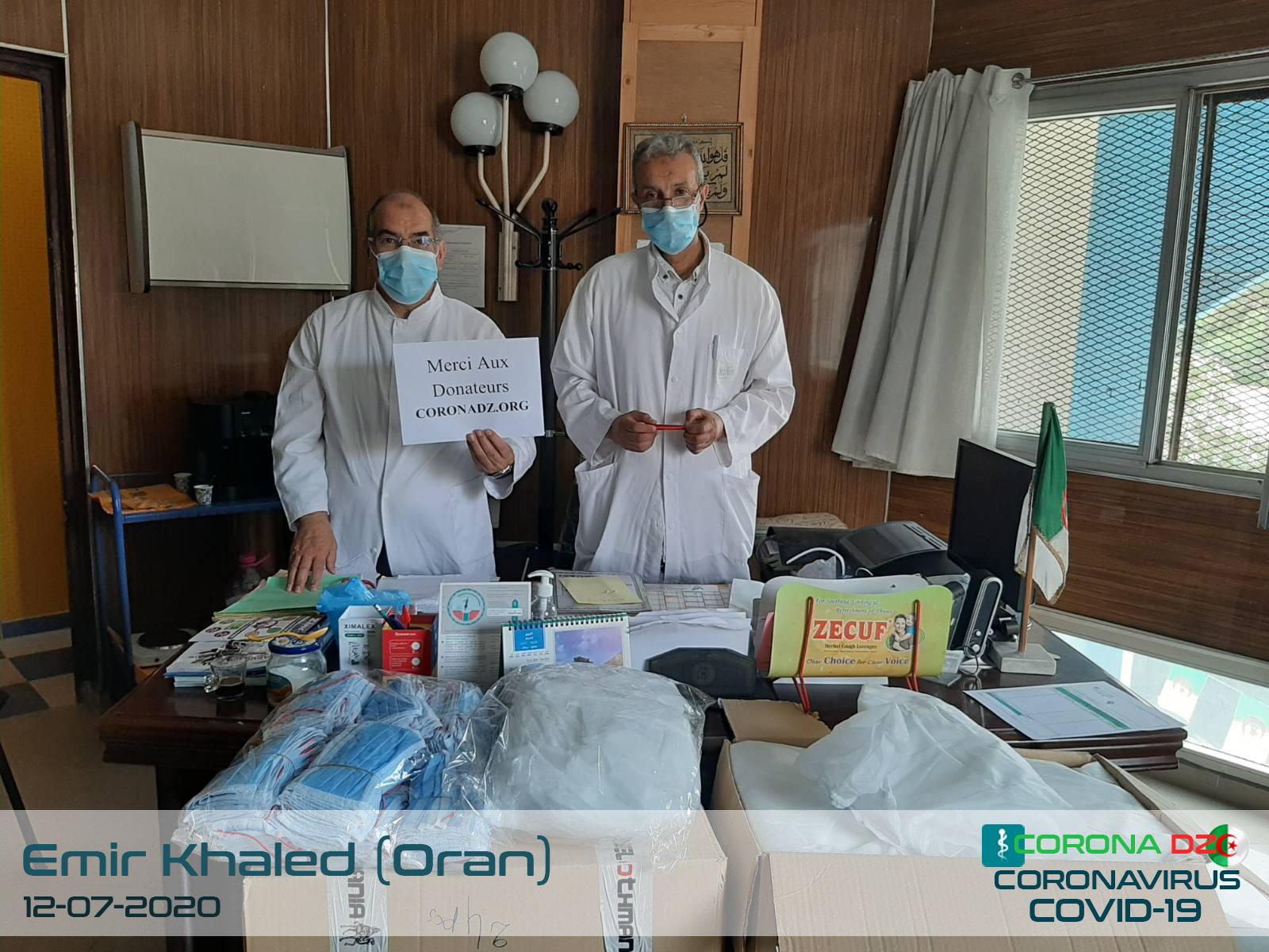 oran l unite polyclinique emir khaled
