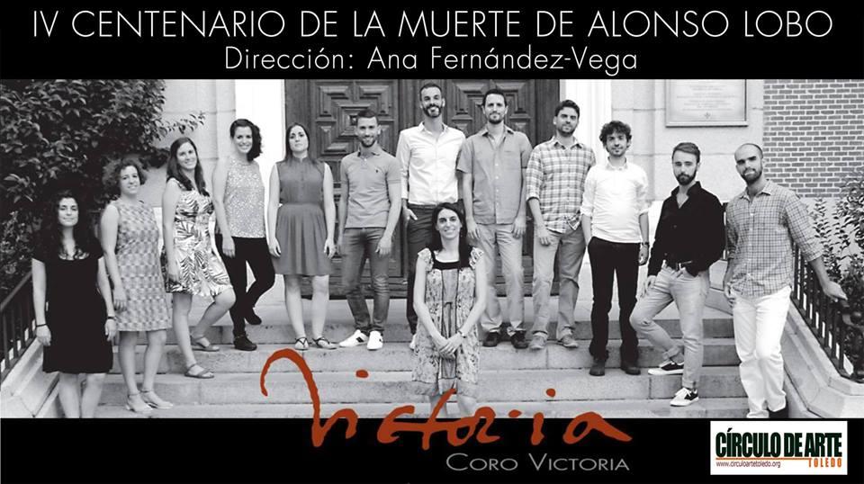 El Coro Victoria conmemora a Alonso Lobo en Toledo