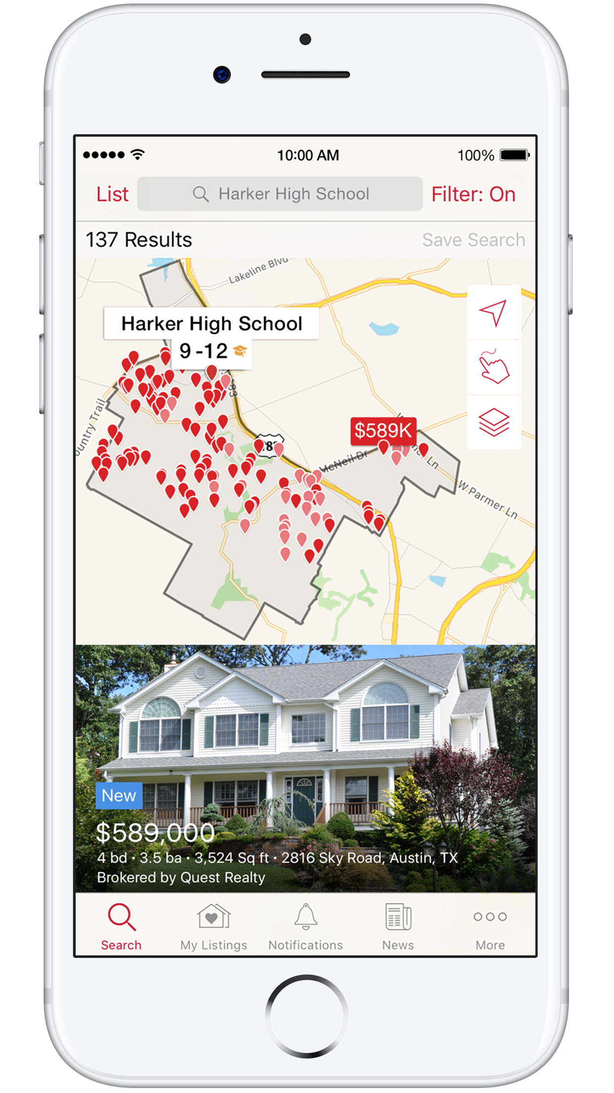 Map To See Your House on