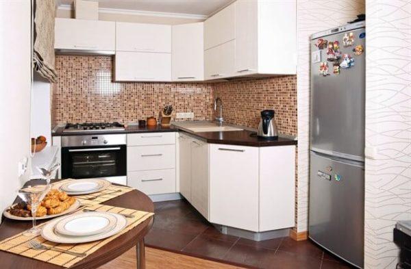 Современные идеи интерьера и дизайна маленькой кухни