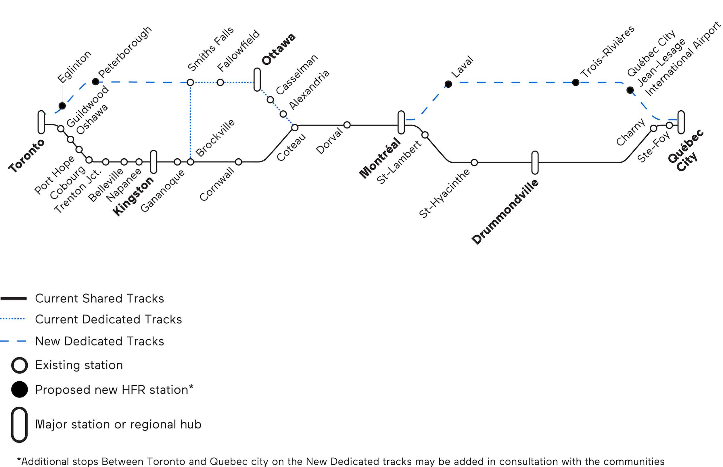 Via Rail S Plan For Dedicated Tracks