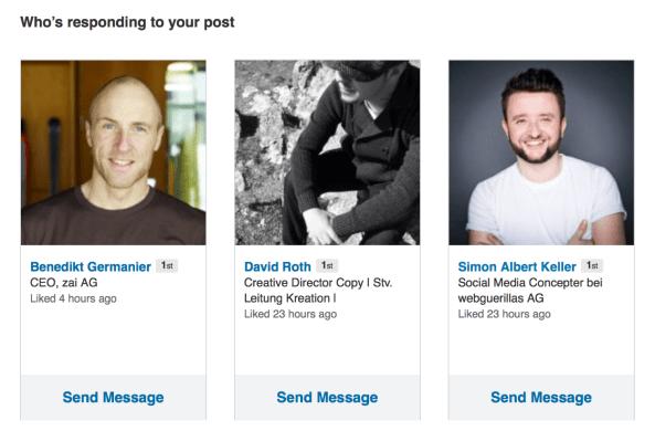 Easy Kontakt aufnehmen mit deinen Lesern
