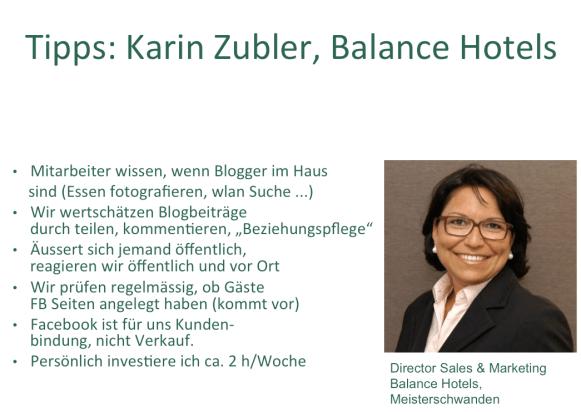 Nachgefragt bei Karin Zubler, Balance Hotels