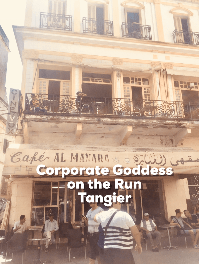 Are you an exhausted and stressed Corporate Goddess on the run? We look at Tangier, Morocco as a potential destination for rest, revitalisation and rejuvenation.