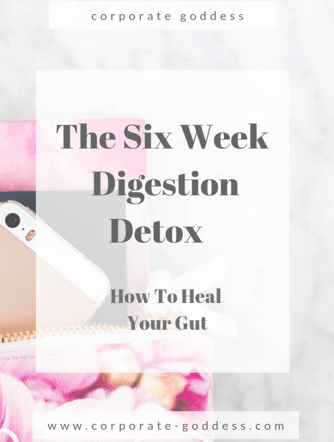 The Six Week Digestion Detox - Help Cure Stomach Problems and Issues, Cramps, Aches, Pains, Indigestion and Bloating with this Six Week Plan