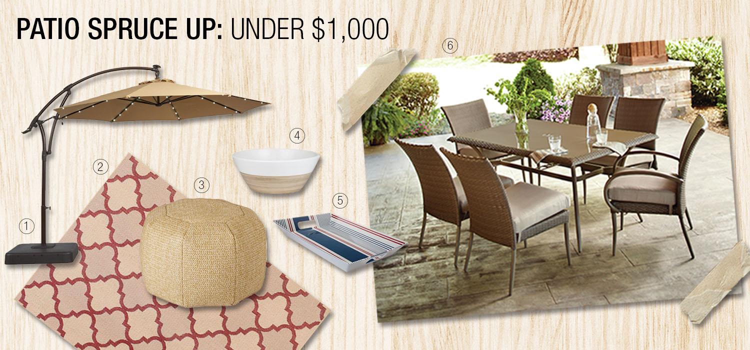 The Home Depot | Patio Design Guide: Ideas to Spruce Up ... on Home Depot Patio Ideas id=62763