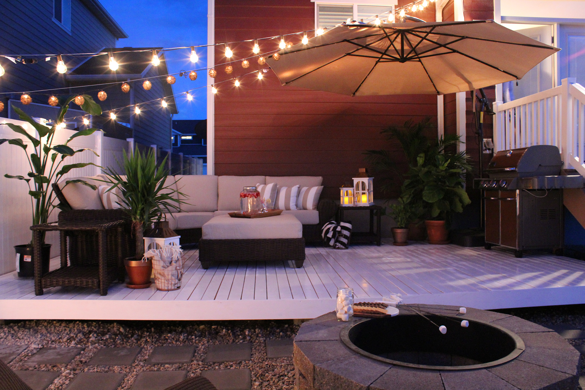The Home Depot | TOP 4 OUTDOOR DECOR TRENDS FROM THIS YEAR ... on Home Depot Patio Ideas id=73509