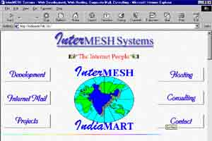 Imesh Front Page