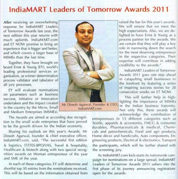 IndiaMART Leaders of Tomorrow