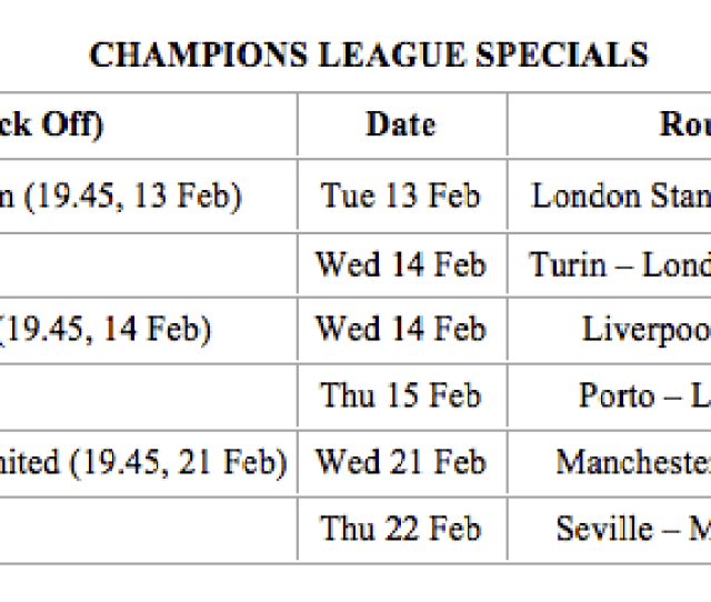 Next Round Champions League Fixtures Weve Added 6 Extra Flights For Their Last 16 Ties Which Are On Sale Now And Selling Fast Only On Ryanair Com