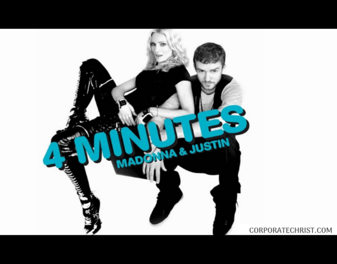 Corporate Christ - Madonna 4 Minutes Remix