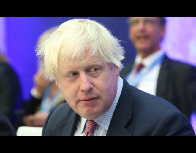 Corporate Christ - Boris Johnson