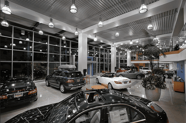 Clean Car Dealership