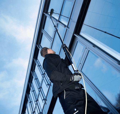 Professional Cleaning High Window in Grand Rapids, MI