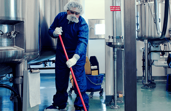 Professional Cleaning at a Manufacturing Facility in Grand Rapids, MI