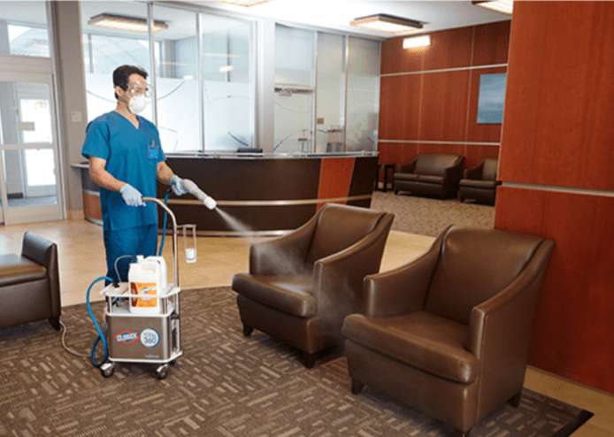 total office disinfection in the Grand Rapids area